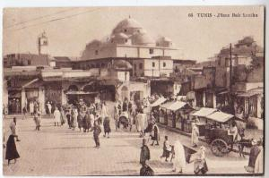 Tunis - Place Bab Souika