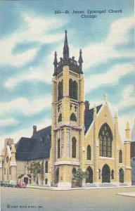 Illinois Chicago Saint James Episcopal Church