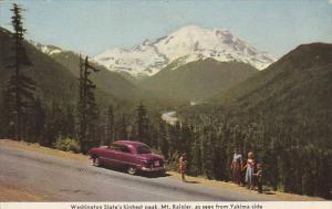 Mt Rainier From Yakime Side Washington State's Highest Peak