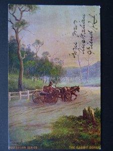 Australia Series THE RABBIT DEALER Artist P. Campbell c1904 by Art Series
