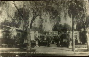 Pasadena CA Alexandria Court 1918 Used Real Photo Postcard