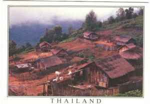 Thailand, Mountain view, used Postcard