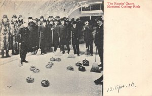 br105502 roarin game montreal curling ring canada sport