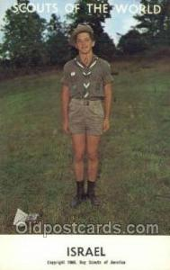 Isreal Boy Scouts of America, Scouting Postcard, Post Cards, Copyright 1968  ...