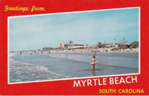MYRTLE BEACH, South Carolina, 40-60s ; Beach