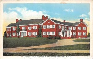 25498 NH, Durham, University of New Hampshire, The Hood House