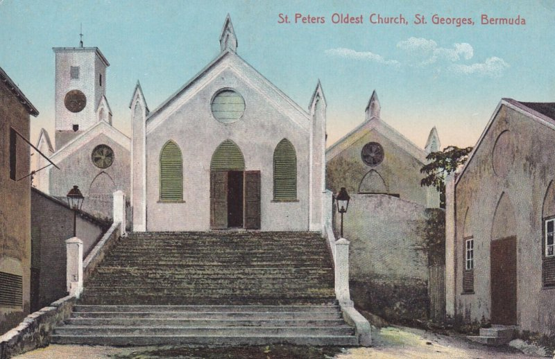 ST. GEORGES, Bermuda, 1900-1910s; St. Peters Oldest Church