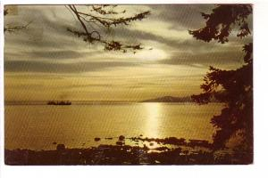 Sunset on English Bay, Vancouver, BC,