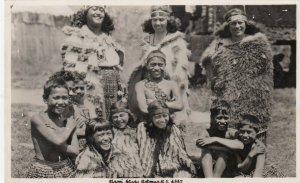 RP: Maori Study , Rotorua , New Zealand , 1930s