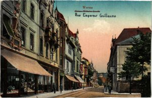 CPA AK Worms- Rue Empereur Guillaume GERMANY (885922)
