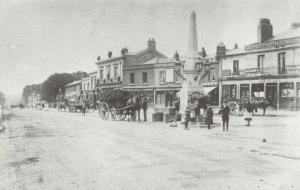 Reproduction c1900 Postcard, Market Place, Bexleyheath, Bexley, London, Kent 93T