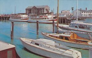Fort Sumter Tour Boats Dock , CHARLESTON , South Carolina , 40-60s