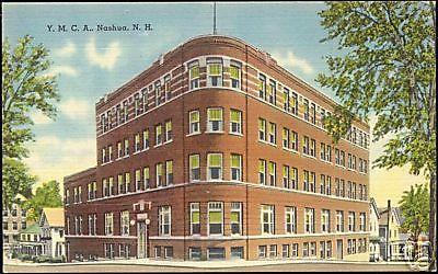 Nashua, New Hampshire, Y.M.C.A. Building (1930s) YMCA