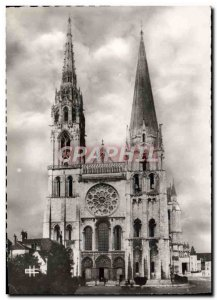 Modern Postcard Chartres The Cathedral
