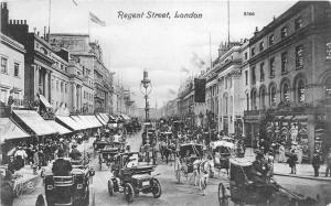 B85128 regent street car voiture chariot   london uk