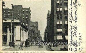 Locust Street in St. Louis, Missouri