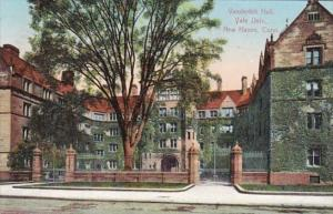 Connecticut New Haven Vanderbilt Hall Yale University 1908