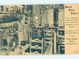 1940's RESTAURANT SCENE Harrisburg Pennsylvania PA G8567