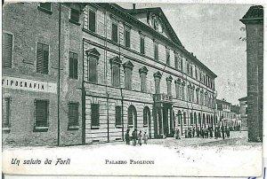 CARTOLINA d'Epoca - FORLI citta': 1919