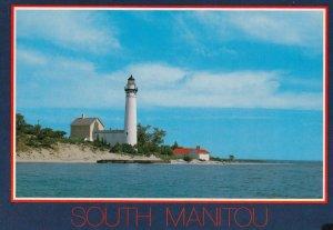 LIGHTHOUSE , South Manitou , Lake Michigan , 1980-90s