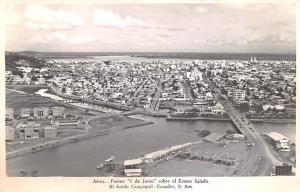 Puente 5 Ecuador, Republica del Ecuador Puente 5 de Junio Sobre el Estero Sal...