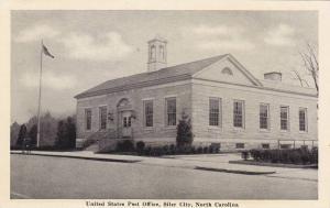 Exterior,  United States Post Office,  Siler City,  North Carolina,   40-60s