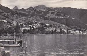 Switzerland Montreux Glion Caux Rochers de Naye 1957 Photo