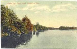 Beech Island, Sebasticook River, Clinton, Maine, 1900-1910s