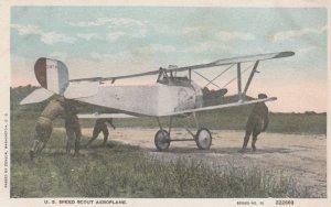 WW1 ; U.S. Speed Scout Aeroplane