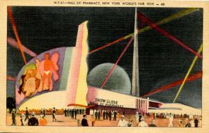 NY - New York World's Fair, 1939. Hall of Pharmacy