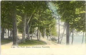 The North Shore, Chautauqua Assembly, NY, New York State, 1910 Double Back