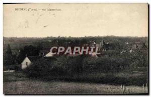Postcard Old Bleneau Panoramic