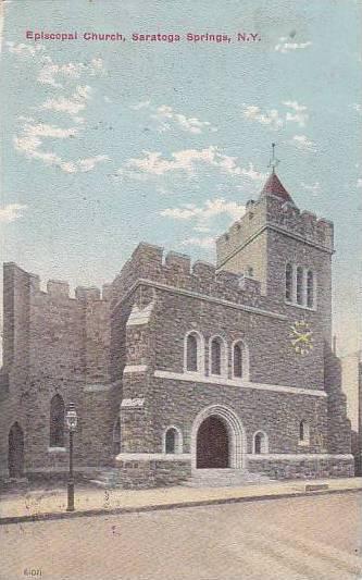 Episcopal Church, Saratoga Springs, New York, 1900-1910s