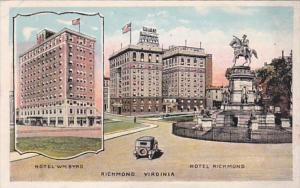 Virginia Richmond Hotel William Byrd & Hotel Richmond