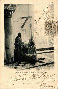 CPA AK Tlemcen- Le Puits du Tombeau de Sidi Boumedine, ALGERIE (794766)