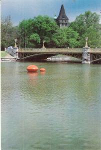Marta Pan Floating Sculpture in River
