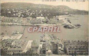 Old Postcard The Port Nice Riviera