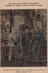 PARIS , France , 1947 ; Harry's New York Bar
