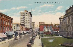 Iowa Des Moines 6th Street Looking North Curteich
