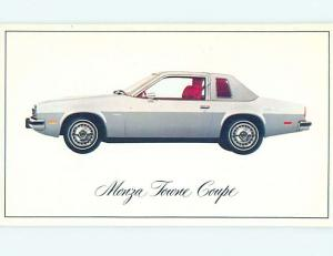 Unused 1976 car dealer ad postcard CHEVROLET MONZA TOWN COUPE o8182-23