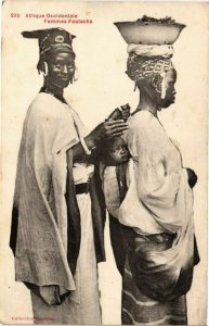 CPA AK Senegal-Femmes Foulachs (235345)