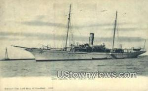 The Hawk, US Naval Ship Cleveland OH 1910