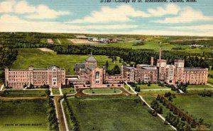 Minnesota Duluth College Of St Scholastica Curteich