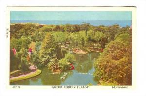 Parque Rodo Y El Lago, Montevideo, Uruguay, 1940s