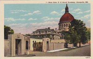 Main Gate, U.S. Naval Academy, Annapolis, Maryland,   00-10s