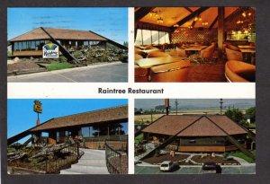 ID Raintree Restaurant Coffee Shop Best Western Motel Rexburg Idaho Postcard
