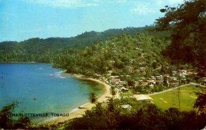 Tobago - Charlotteville. Bird's Eye View