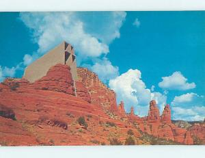 Unused Pre-1980 CHURCH SCENE Sedona Arizona AZ hs6874