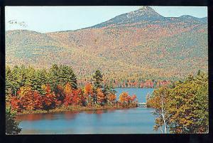 Mt. Chocorua & Lake, New Hampshire/NH Postcard, White Mountains, 1974