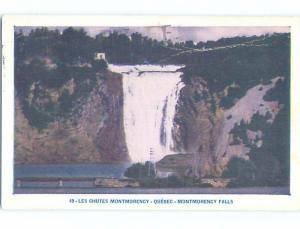 Pre-1980 TOWN VIEW Montmorency Falls - Beauport - Quebec City QC p9457
